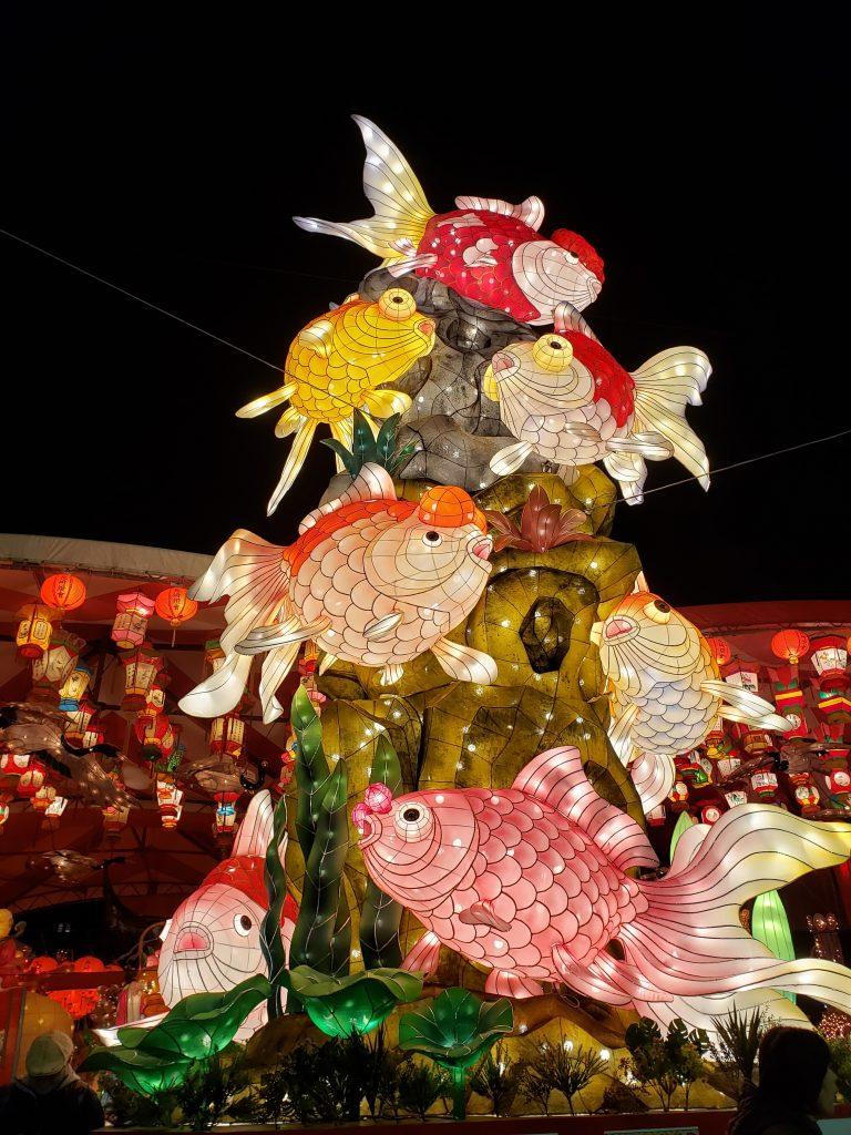 長崎ランタンフェスティバル会場風景
