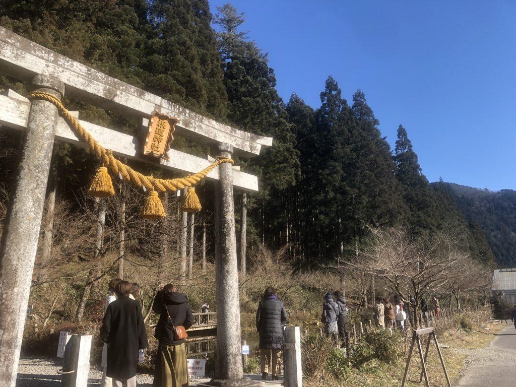 岐阜県 根道神社参道脇 通称モネの池